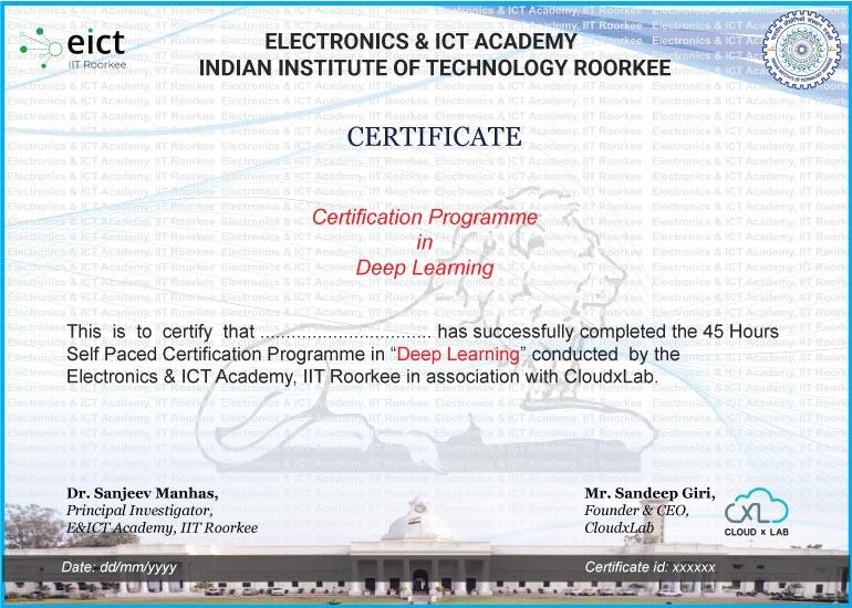 DL EICT Certificate